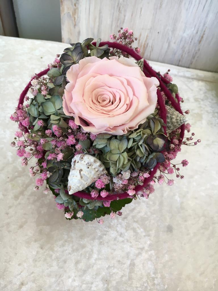Rosen forever - Sträußchen - rosa