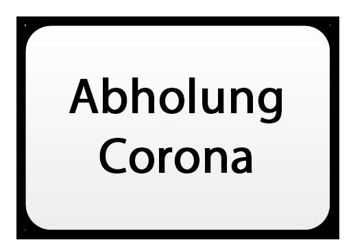 Abholung Corona-Lockdown
