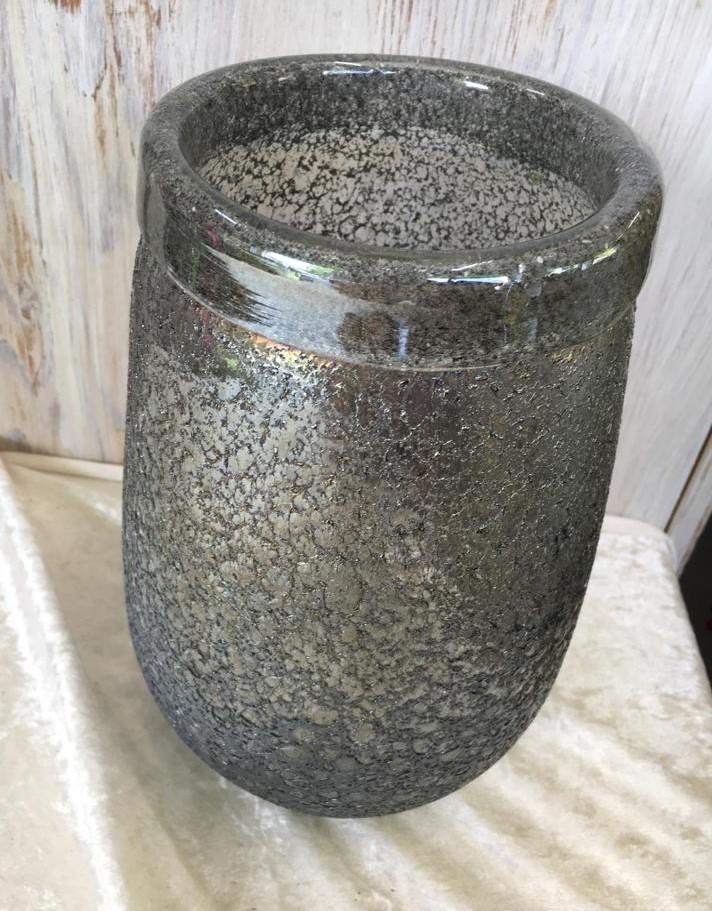 Vase - silber